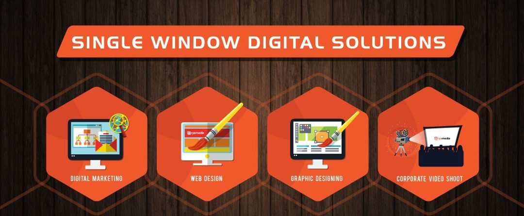 Avail Single Window Digital Solutions at Arya Media
